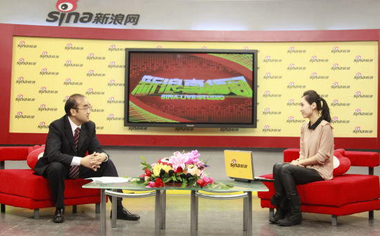 澳柯玛董事长李蔚接受新浪采访