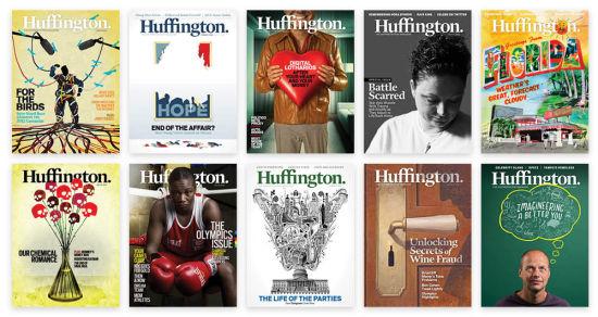 赫芬顿邮报数字杂志