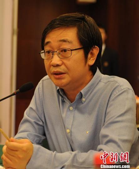 人民日报新闻协调部副主任丁伟 张茵 摄