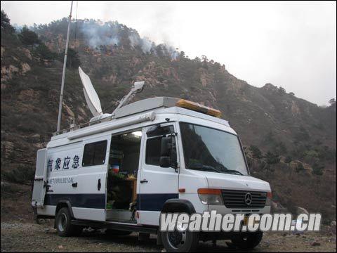 秦皇岛,唐山,承德调集移动增雨作业车分别在抚宁县,青龙县,卢龙县境内