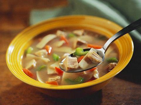 秋季养生汤材料可选6菜7中药