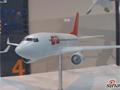 国产C919大飞机模型