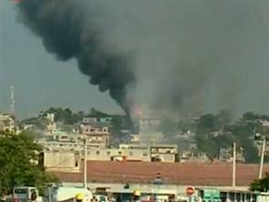 海地太子港天主教堂被人为纵火