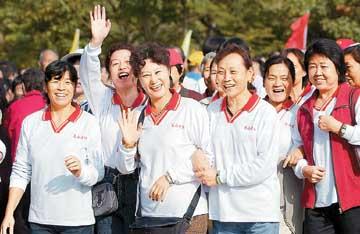 健步迎奥运