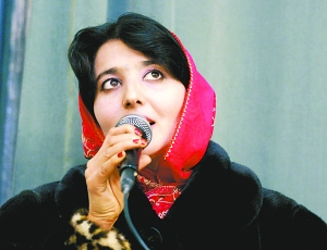 尽管她在阿富汗这个有浓厚男权色彩里遭人非议