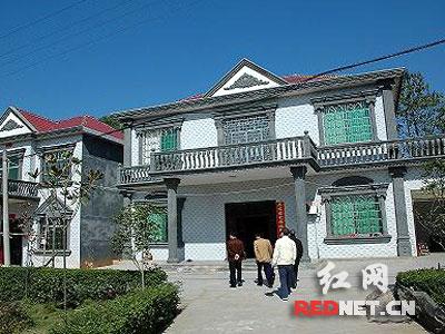湖南省新农村建设在复式发展观指导下再上新台设计图纸农村房子层楼科学四图片