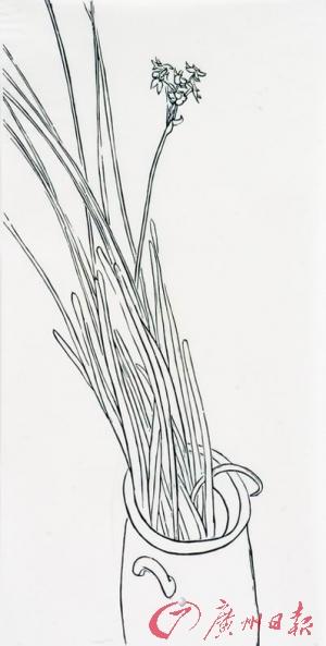 手绘线稿教程流水