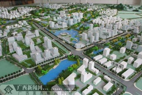 北流市工业区规划图
