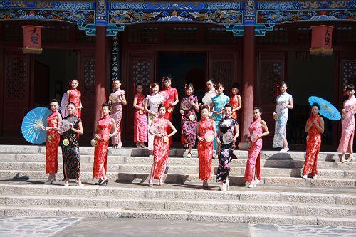 2009世界旅游小姐大赛中国风主题摄影活动湟源举行