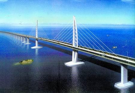 港珠澳大桥昨日开工 将成世界最长跨海大桥