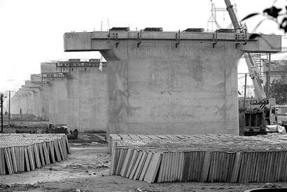 桥梁基础工程基本完工