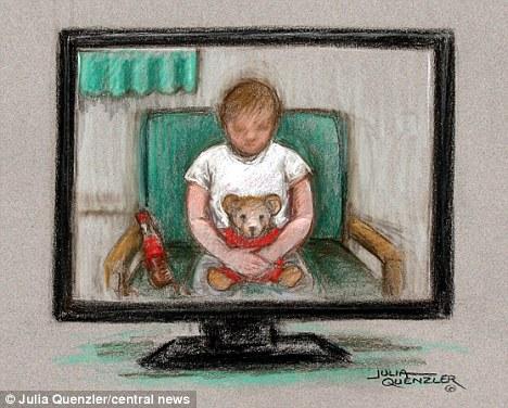 英国8岁女孩法庭上承认其遭两个男孩强奸系编