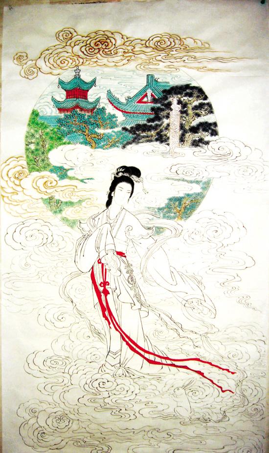 资料:中国月亮女神——嫦娥仙子