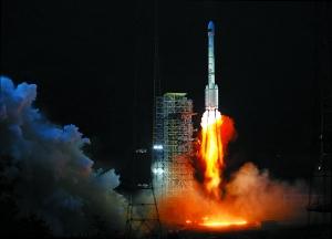 嫦娥二号成功发射