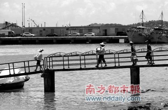 香洲渔民穿越海上风云百年港湾面临转型难题
