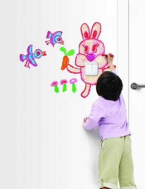 一年级儿童节绘画