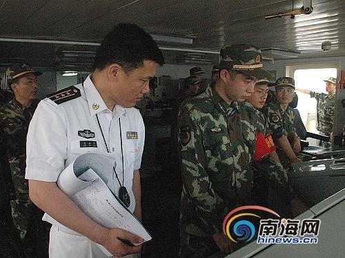 公安部首次千吨舰操纵考核海南边防4舰长参考