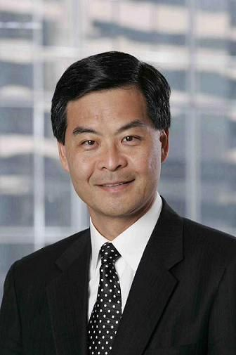 Leung Chun-ying, newly-elected chief executive