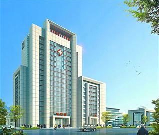 韩广庆说,综合性大楼的外观设计历经多次更改和论证,作为地标性