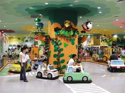 你需要什么样的商场儿童游乐园_新浪新闻