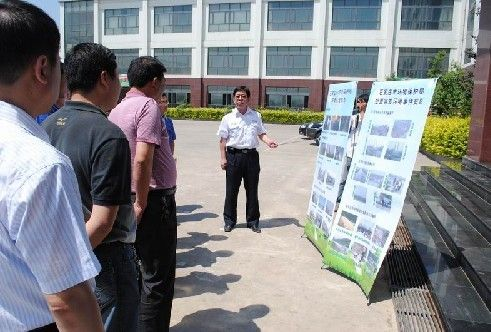 环境综合执法支队开展防灾减灾知识宣传活动