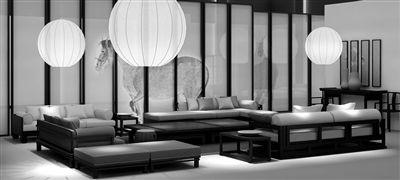 新中式家具灵感来源古建筑