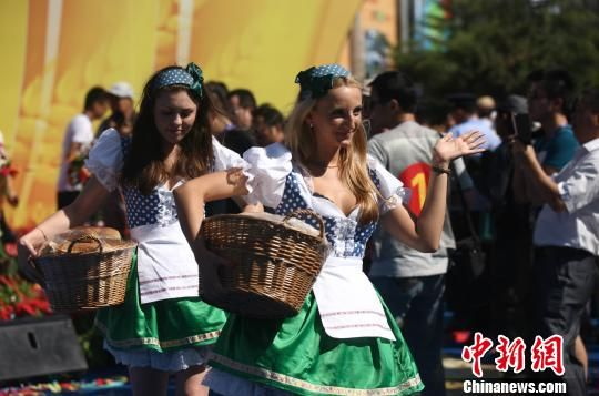 全球300余种啤酒齐聚第22届青岛国际啤酒节