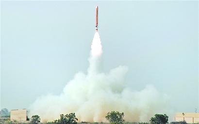 巴基斯坦试射可携核导弹