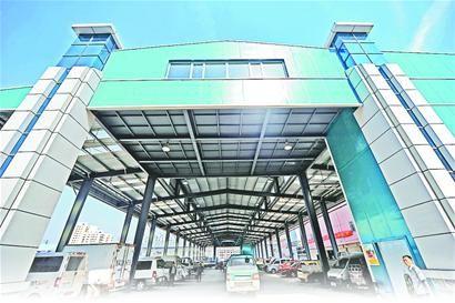 济南七里堡新建钢结构大棚10月启用-吉林兆武彩钢