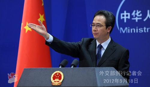 中方:日方应反思当前错误做法停止侵害中国领土主权
