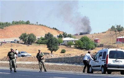 土军用车队遇袭55人死伤