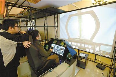 有特制驾驶舱 有模拟飞机声 这个办公室到处是奇思妙想