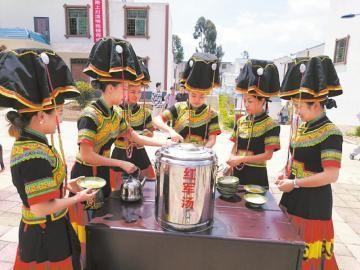 """一碗酸甜的""""红军汤""""在会东县喝了80年"""