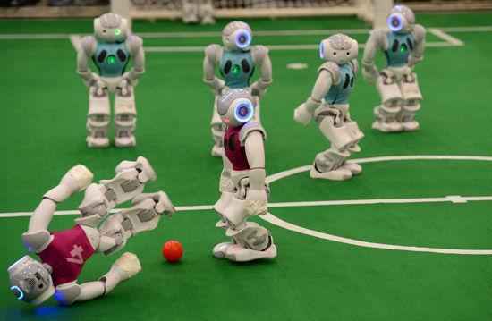 第19届RoboCup机具人世界杯赛在合肥开赛