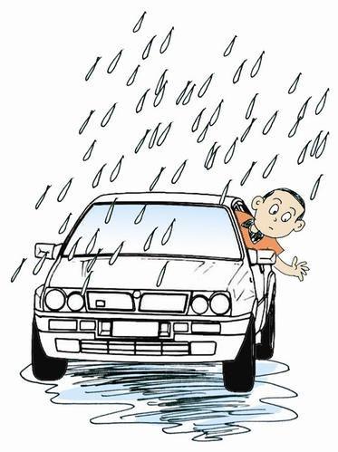 我省最近多雨 这些高速路段易积水