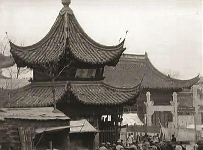 老视频还原90年前的夫子庙明城墙这也是新闻界最早的有声新闻影片