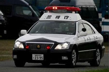 日本常见的皇冠警车(资料图)