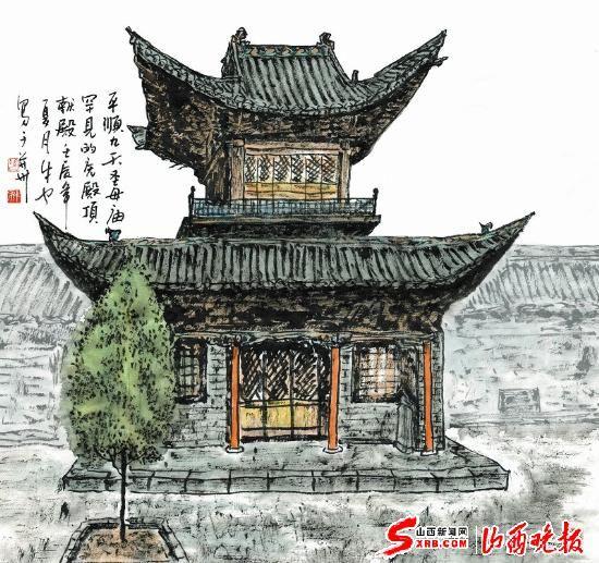 山西古代建筑精华之四十八:圣母神通(图)
