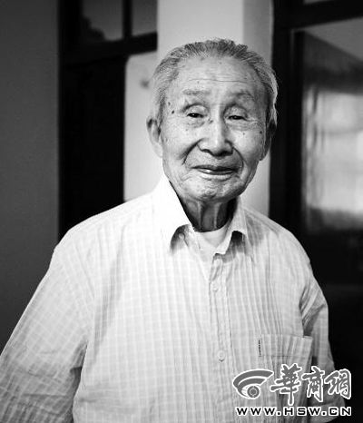 一位百岁老兵的抗战记忆(图)