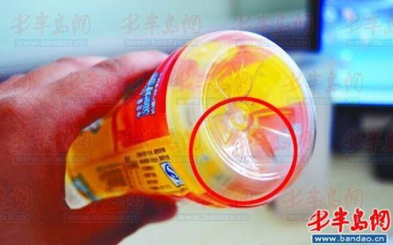 塑料瓶勿反复使用 底部数字代表用材不同(图)