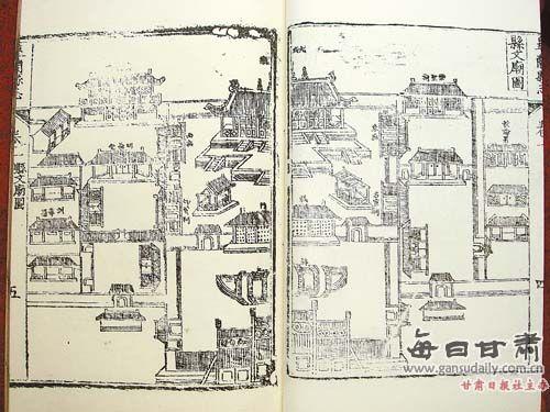 古代侯府房屋布局图