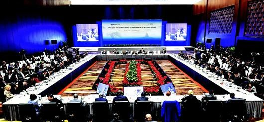 拉开了今年APEC领导人会议周大幕 (新华社发)-APEC北京峰会盛图片