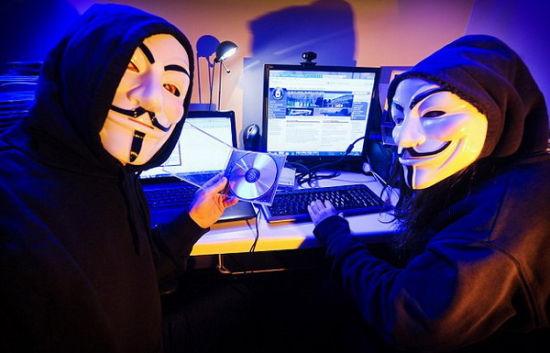 """黑客组织""""匿名者""""向伊斯兰极端势力网站宣战(组图)"""