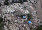 地震中的孩子