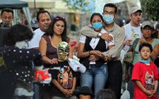 遭受猪流感袭击的墨西哥