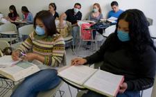 墨西哥全国高中和大学开始复课