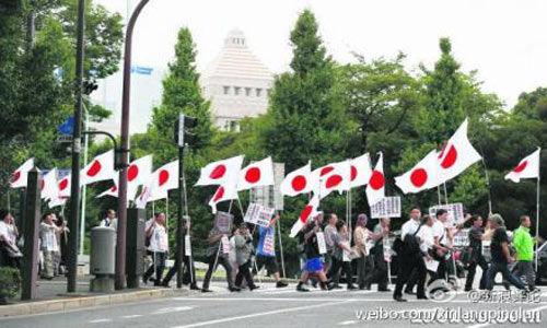 中国人能清楚地感受到日本民族主义的汹涌澎湃。