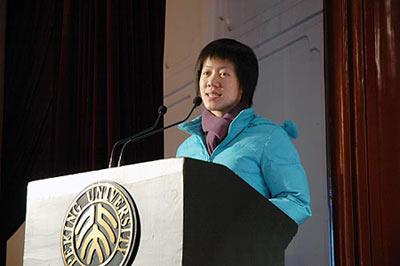 2007感动中国年度人物推荐:黄来女(图)