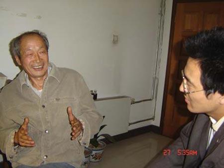 2007感动中国年度人物推荐:慕振奎(图)