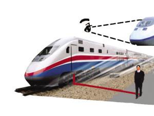 火车急刹车将路边受伤女子送回急救(图)